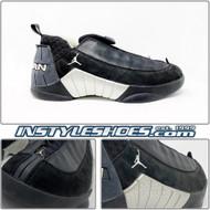 Air Jordan XV Low Black Metallic Silver 136035-011