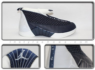 2000 Air Jordan XV Obsidian White 136029-411