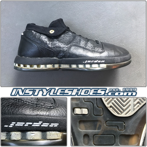 Air Jordan 16 Low Black Met Silver