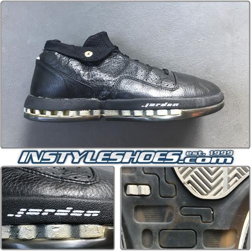 Air Jordan 16 Low Black Met Silver