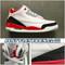 2006 Air Jordan 3 Fire Red 136064-161
