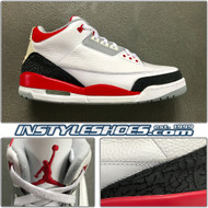 2006 Air Jordan 3 Fire Red 136064-161