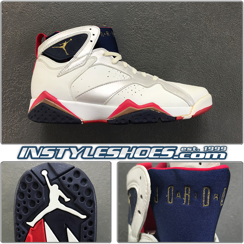 1992 Air Jordan 7 Olympic 130157 110