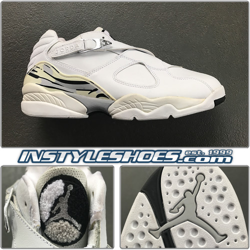 2003 Air Jordan 8 Low Chrome 306157-101