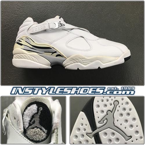 2003 Air Jordan 8 Low Chrome 306157-101