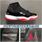 Air Jordan 11 OG Black True Red 130245-062