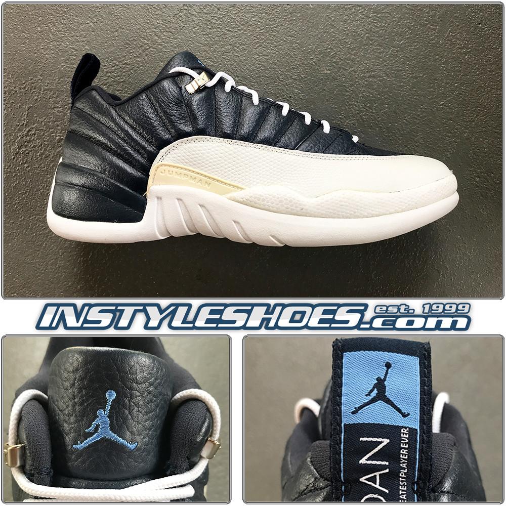 2004 Air Jordan 12 Low Obsidian 308317 441