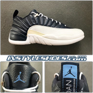 2004 Air Jordan 12 Low Obsidian 308317-441