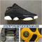2005 Air Jordan 13 Low Black Maize 310810-001