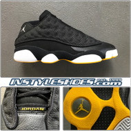 2005 Air Jordan 13 Low Black Maize 310810-001