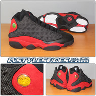 Air Jordan 13 Black True Red 309259-061 2004 Retro