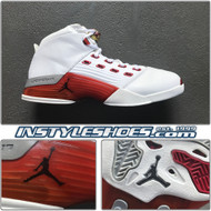Air Jordan 17 White Varsity Red