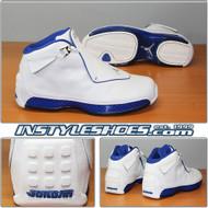 Air Jordan 18 White Sport Royal 305869-101