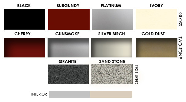Superior Master Series Color Options