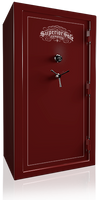 Superior Ironside Series Gun Safe in Gloss Burgundy