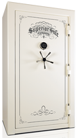 Superior Regal Series Safe in Ivory with black chrome