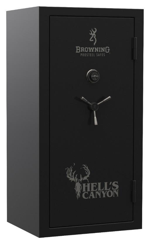 Black Gun Safe In Living Room Decor: Browning ProSteel Hell's Canyon Gun Safe Offered By