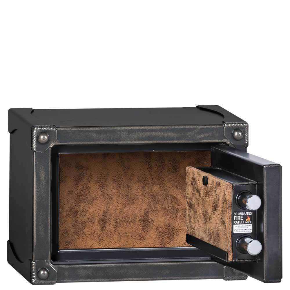 Longhorn 1014 personal safe interior
