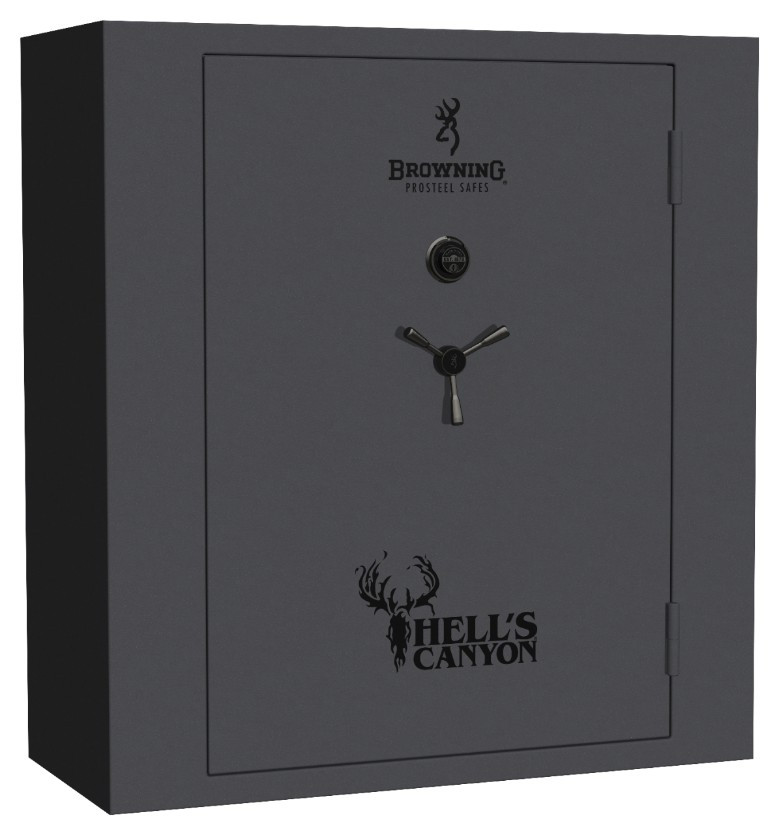 Browning Prosteel Hell's Canyon Gun Safe - HC65 in Textured Grey