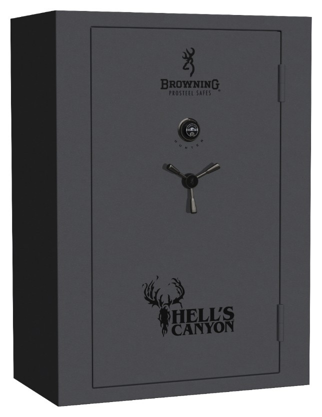 Browning Prosteel Hell's Canyon Gun Safe - HC49 in Textured Grey