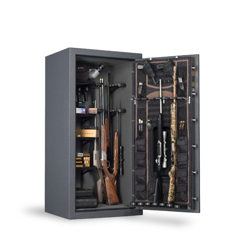 Browning Prosteel Hell's Canyon Gun Safe - HC65 interior filled
