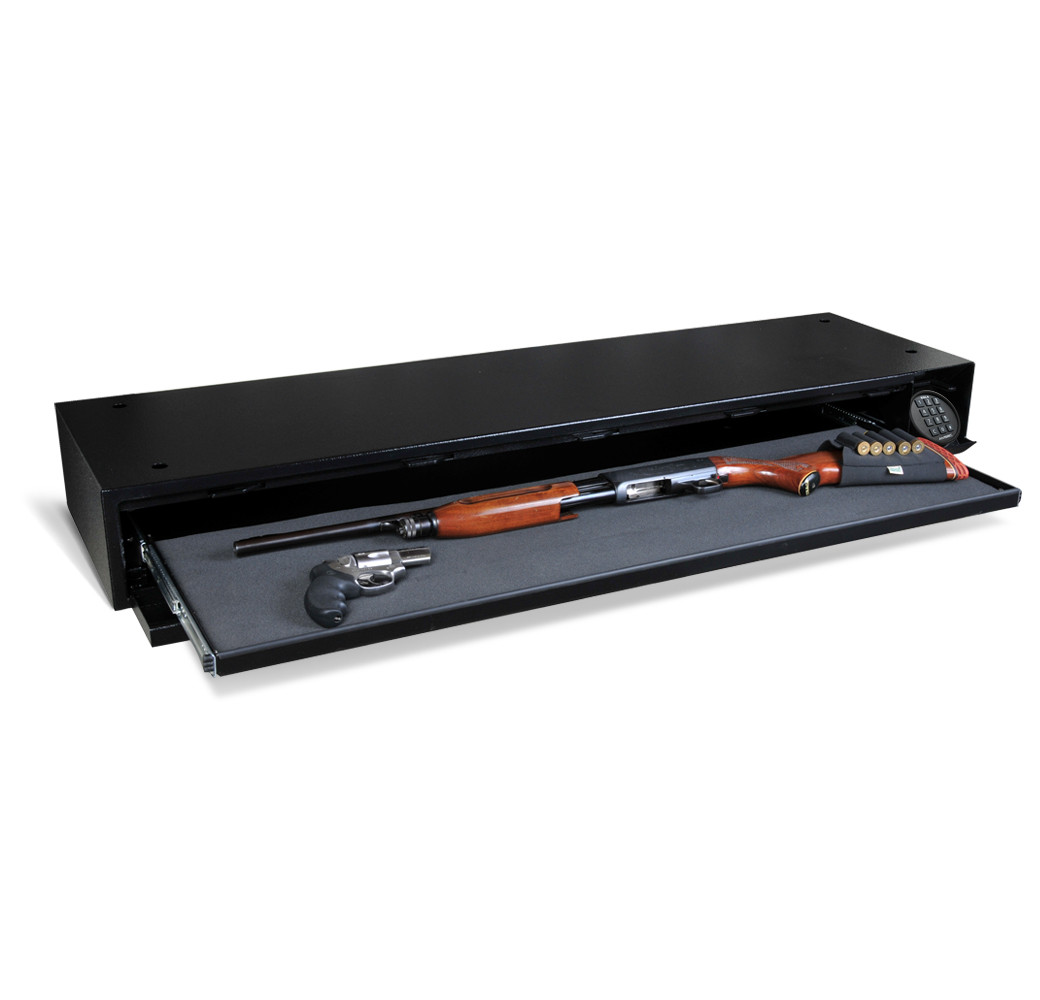 AMSEC DV652 Under Bed Safe opened