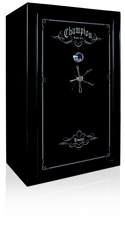 Champion Trophy Series Safe in Black with chrome