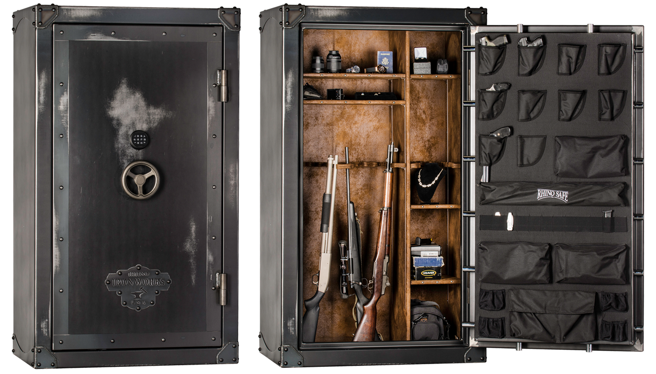 Rhino Ironworks 85 Minute Fire Rated Safe Series /Call-Email for Discount!