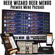 Beer Wizard Beer Menus - Premiere