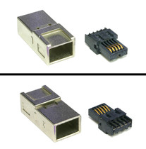 1394b FireWire Beta Connector Plug-kit with Metal Shell