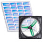 Medium Solar Fan Kit