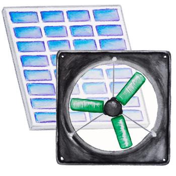 Solar Fan Kit