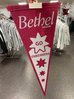 """GO THRESHERS"" PENNANT FLAG"