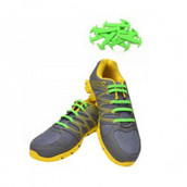 Green Shoe Lace Straps