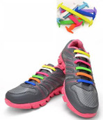 Rainbow Shoe Lace Straps