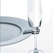 Wine Glass Plate Clip Holder