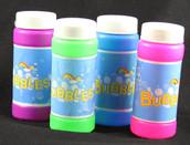 Bubble Mix Bottles Colourful Kids