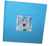 Blue Photo Album With Modern Shopper Fashion Model Girl - Keepsake or Gift  - 200 Pic Sleeves