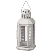 Grey Metal Miners Lantern