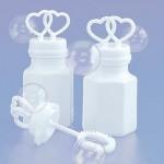 Wedding Bubbles Kissing Heart