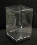 PVC 5x8cm Rectangle Cube Clear Plastic Gift Box - Bomboniere Favour
