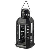 Black Metal Miners Lantern