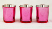 Rose Pink Tealight Candle Holder