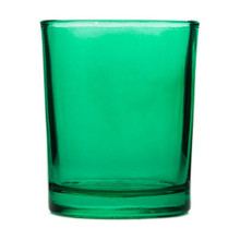 Green Glass Tealight Glass Holder