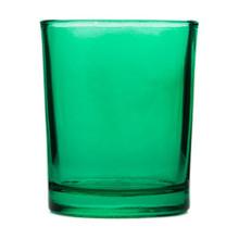 Green Glass Tealight Glass Holder