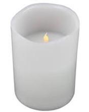 LED Battery Safe Block Pillar Candle