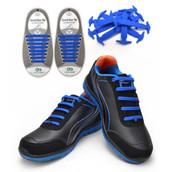 Blue Shoe Lace Traps