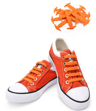 Orange Shoe Lace Straps