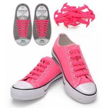 Pink Shoe Lace Straps