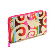 Zip Wallet in Calypso Cream design